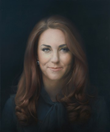The Duchess of Cambridge by Paul Emsley