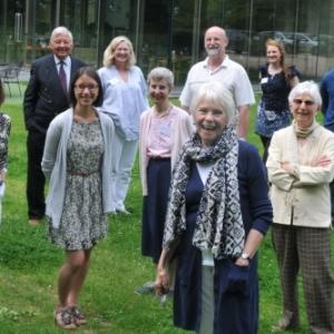Volunteers at the Holburne museumpic by Lloyd Ellington 070613 news