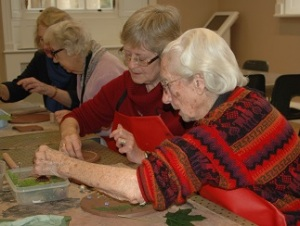 Clay workshop for Blind and Partially Sighted Visitors