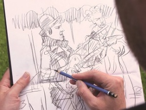 Capturing Life Celebration Sketching @ The Holburne Museum