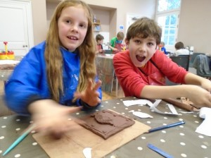 Saturday Art Club - Springtime Clay Craft FULLY BOOKED @ The Holburne Museum
