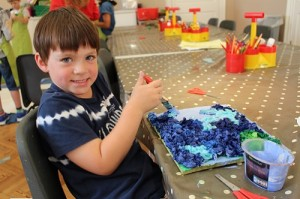 Saturday Art Club (5-13 Years) Feasts and Festivals FULLY BOOKED @ The Gardener's Lodge | Bath | England | United Kingdom