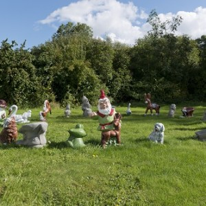 Djordje Ozbolt (b. 1967) DO 2016 Concrete garden gnomes, painted Dimensions variable
