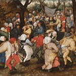 Pieter Brueghel the Younger, Wedding Dance in the Open Air, 1607-1614, oil on oak panel. © The Holburne Museum