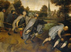 Bruegel's Blind Leading the Blind
