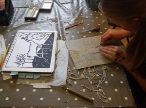 Art Masterclasses  - Printmaking Heaven @ The Gardener's Lodge