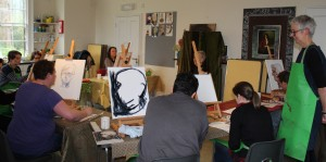 Pathways to Wellbeing Painting Class