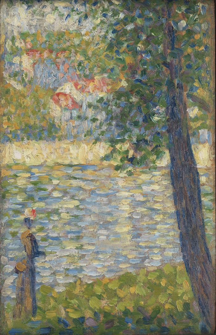 Georges Seurat, The Morning Walk © The National Gallery, London. Presented by Heinz Berggruen, 1995