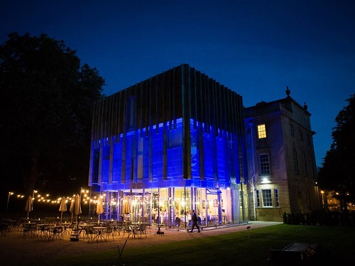 The Holburne Museum at night