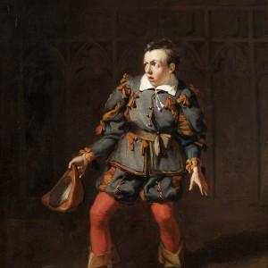 John Baldwin Buckstone (1802-79) as Spado in The Castle of Andalusia, by Robert William Buss, 1833