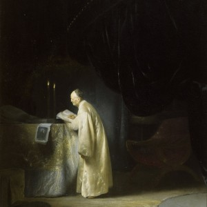 A Magus at a Table by Jan Lievens (Leyden 1607 Amsterdam 1674), Upton House, Warwickshire ©National Trust Images/Angelo Hornak