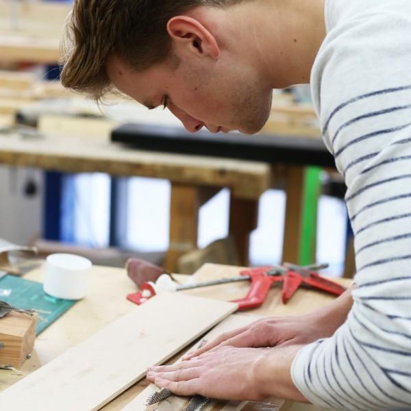 Hanging Lamp Making £ Dimensional Design Student Exhibition Bath Spa University