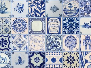 Delft-tile Painting  @ The Holburne Museum