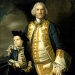 A portrait of Admiral Frances Holburne