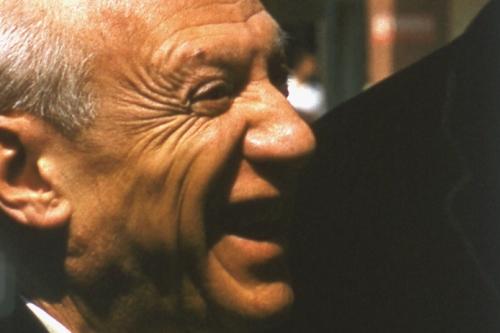 Photograph of Pablo Picasso (c) Robert Mouzillat