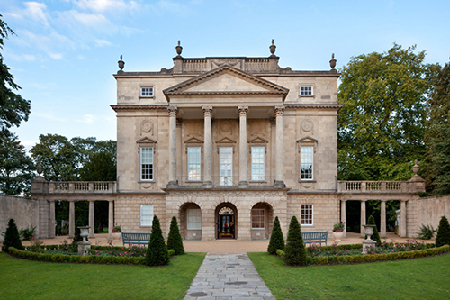 The Holburne Museum from the front