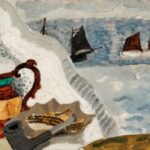 Still Life with Boats, Christopher Wood, 1930, Swindon Collection