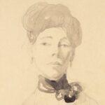 Portrait of a Lady (detail) Gwen John c.1910 Swindon Collection