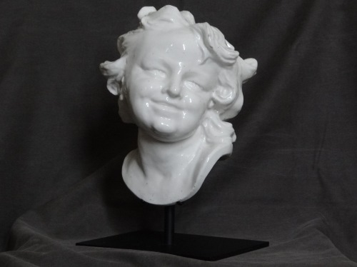 Head of a Laughing Child, Chelsea Porcelain Factory c. 1746