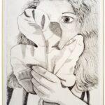 Girl with Fig Leaf, Lucian Freud, 1947 (c) Lucian Freud Archive / Bridgeman Images