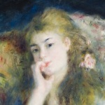 Renoir Young Woman Seated Barber Instituteof Fine Arts University of Birmingham