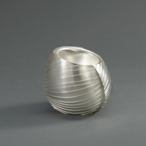 Sinew vessel, 2011 Kevin Grey Silver, Britannia standard Height 9.3 cm Credit Line: Collection: The Worshipful Company of Goldsmiths