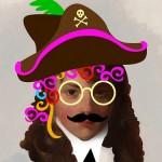 Arthur Atherley as a Pirate