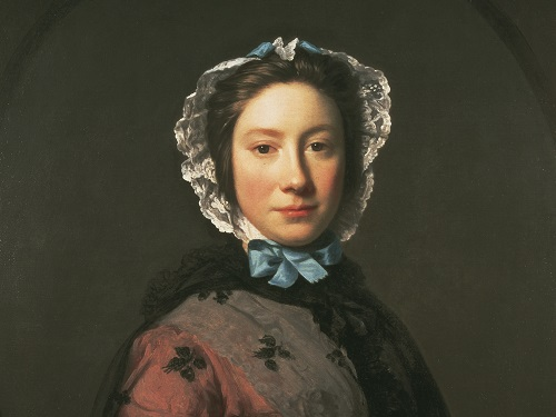 Rosamund Sargent, Allan Ramsay (1713-1784), Oil on canvas, 1749, 79.9X63.2cm. Bequest of Sir Orme Sargent, 1962