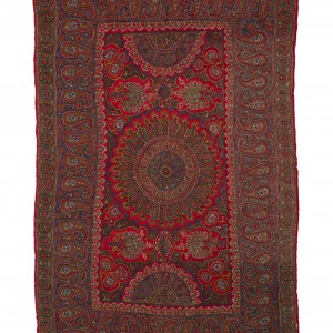 T12 Embroidered Shawl