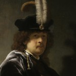 Self-Portrait-Wearing-A-White-Feathered-Bonnet-Rembrandt-van-Rijn-®National-Trust-ImagesChrisTitmus