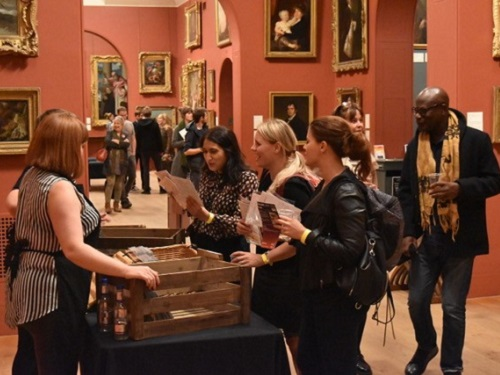 Aroma-Tour (2017) Photo - courtesy of Dulwich Picture Gallery
