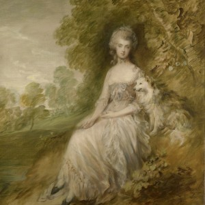 Thomas Gainsborough. Mary Robinson ('Perdita') c.1794, Royal Collection Trust © Her Majesty Queen Elizabeth II 2018