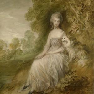 Thomas Gainsborough. Mary Robinson ('Perdita') c.1794, Royal Collection Trust © Her Majesty Queen Elizabeth II 2018