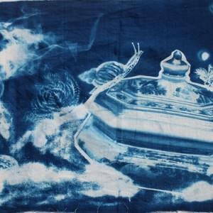 Cyanotype by Bronze Arts Student