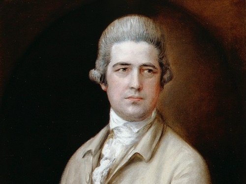Thomas Gainsborough, Thomas Linley the elder, c. 1770, oil on canvas, 76.5 x 63.5, DPG140. By Permission of Dulwich Picture Gallery, London