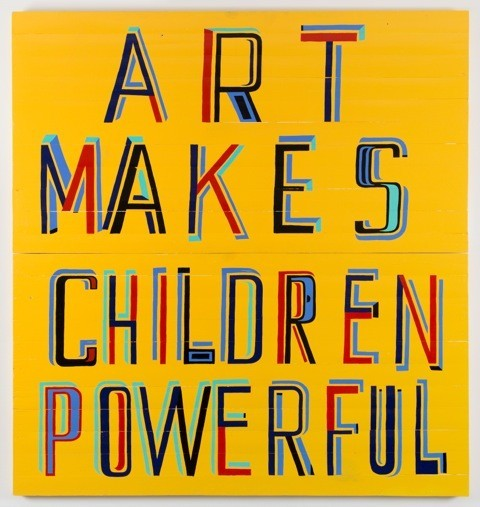 Art Makes Children Powerful by Bob and Roberta Smith