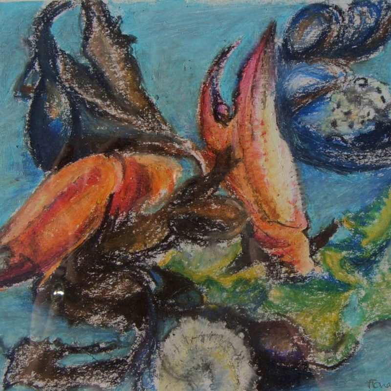 Art Masterclass 18.01.19 Oil Pastels