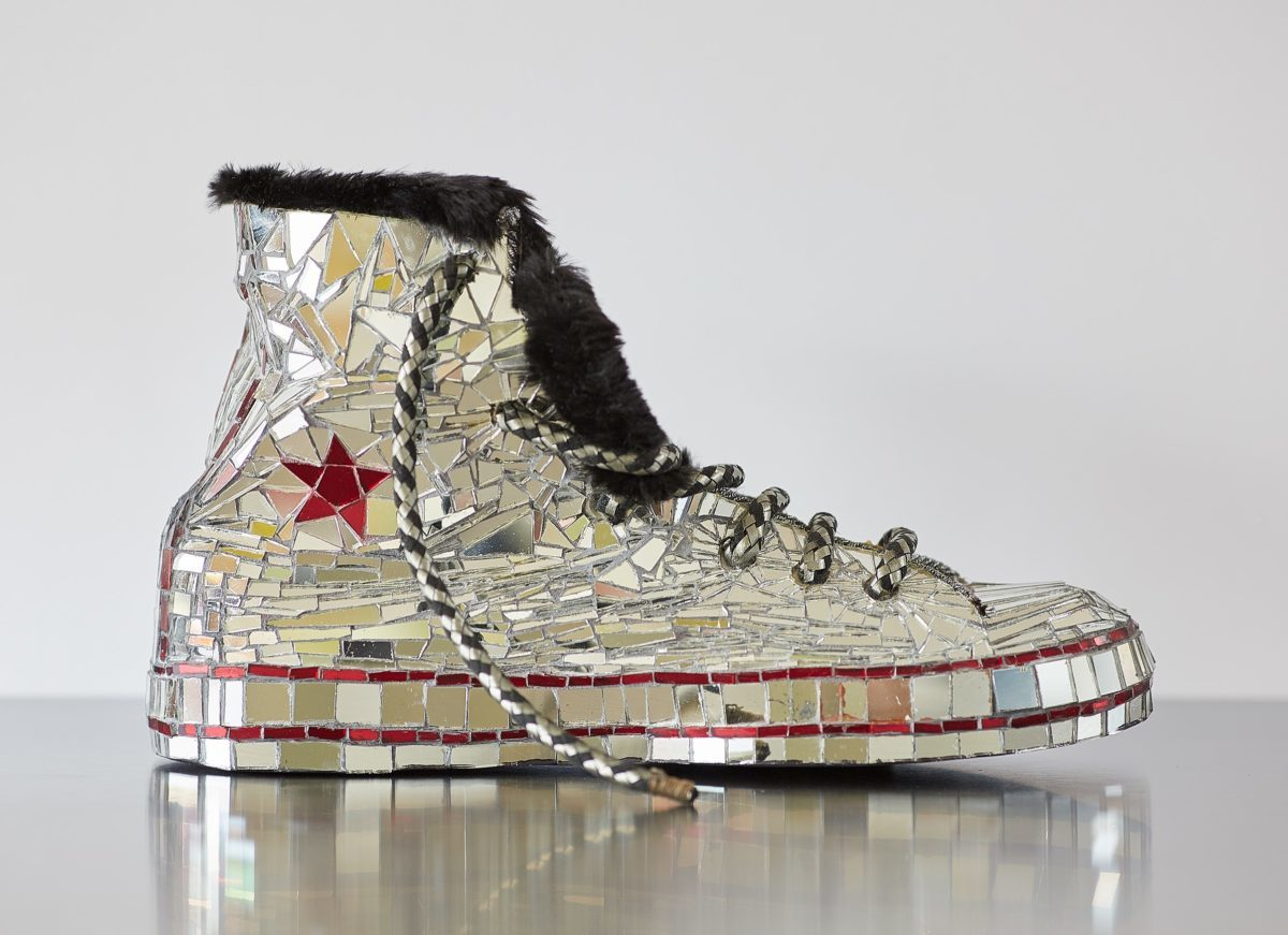 Mirrored Boot by Candace Bahouth
