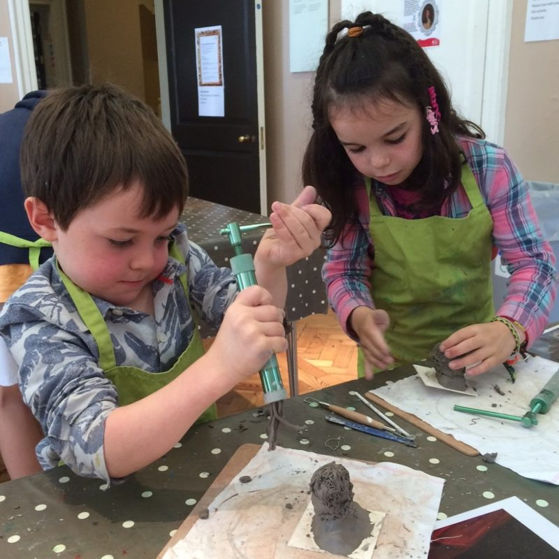 Saturday Art Club: Clay Plate Design