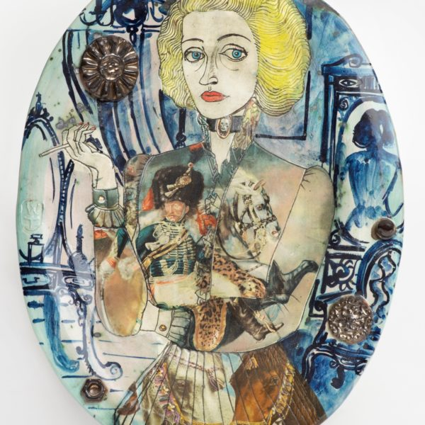 Grayson Perry Claire as a Soldier