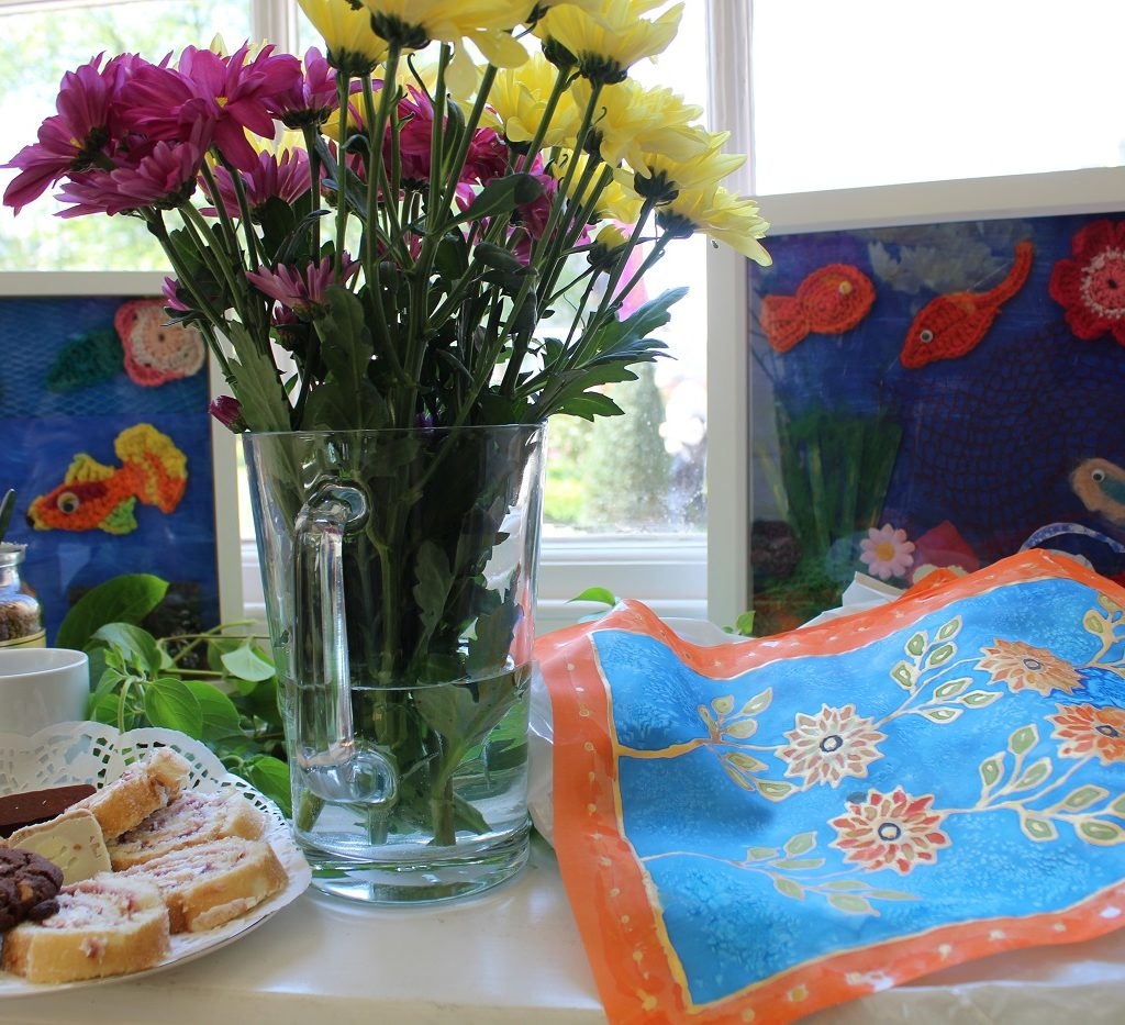 Creativity and Wellbeing coffee morning