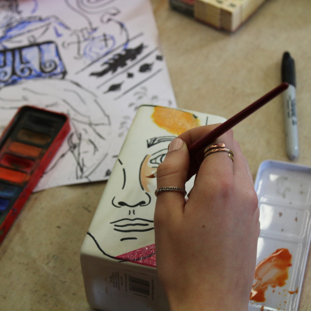 Grayson Perry Self identity Secondary Workshop