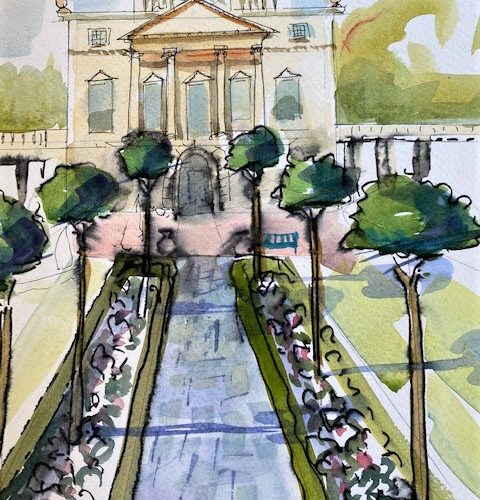 Pathways Create at Home Activity - Holburne facade