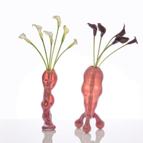 Mr & Mrs Pope Vased and Flowered, Nicholas Pope, 2014 © the artist