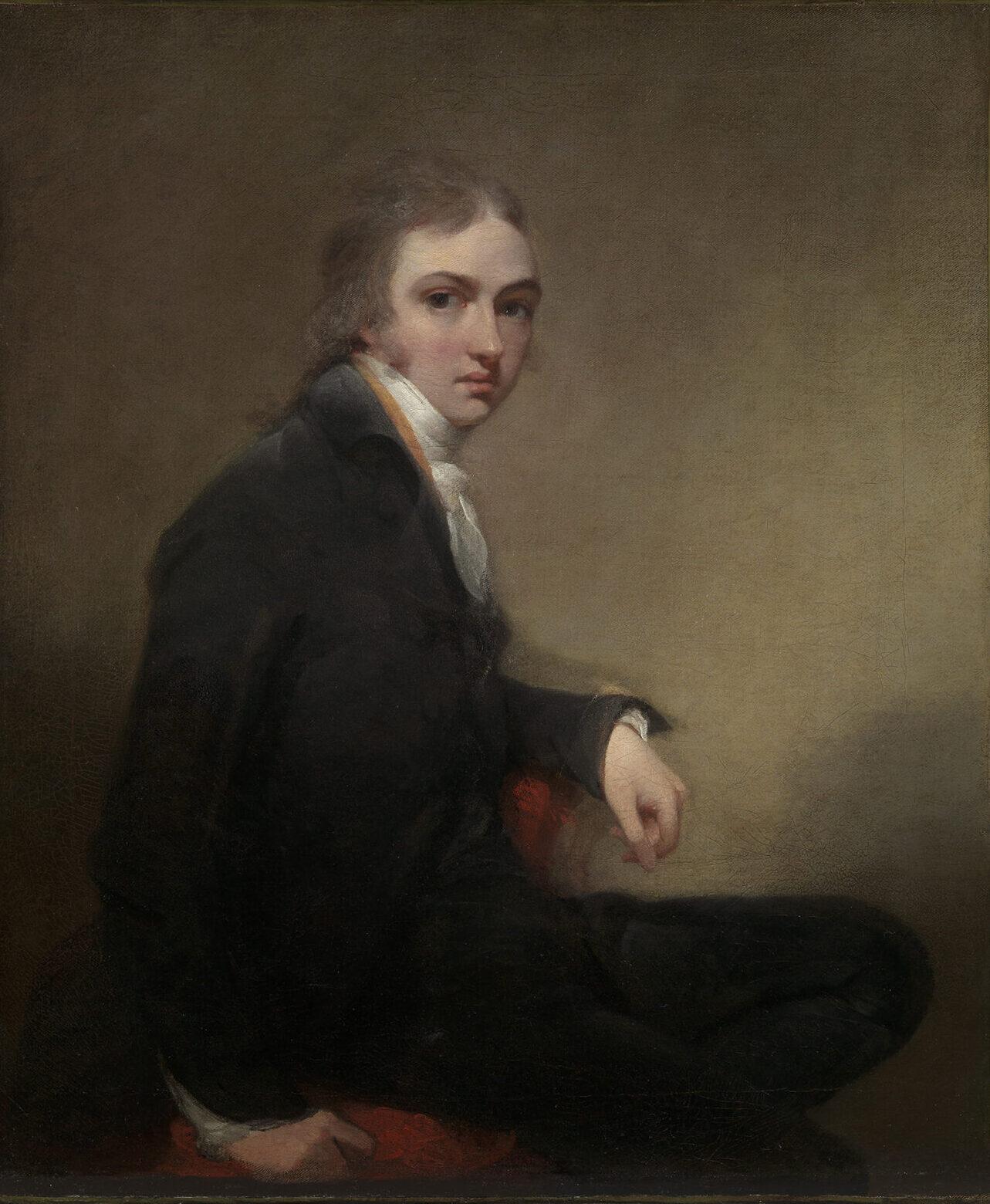 Self-Portrait Oil on canvas, c.1787