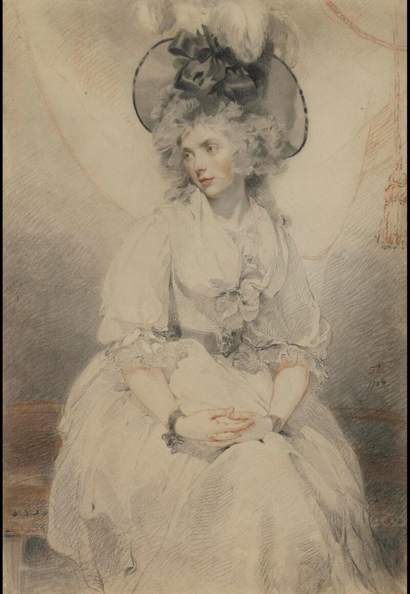 Mary Hamilton née Aylward (c.1762–1837)