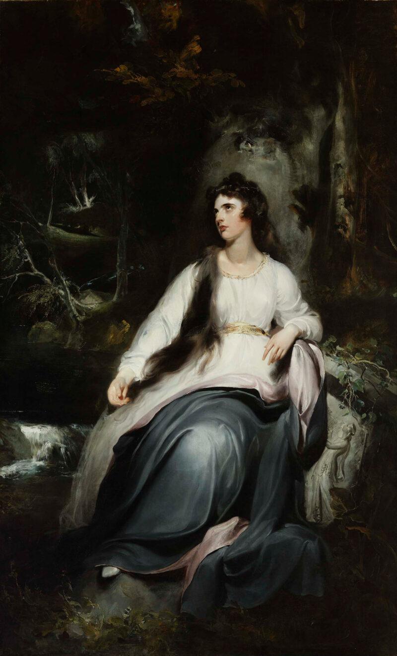 La Penserosa (Lady Emma Hamilton)