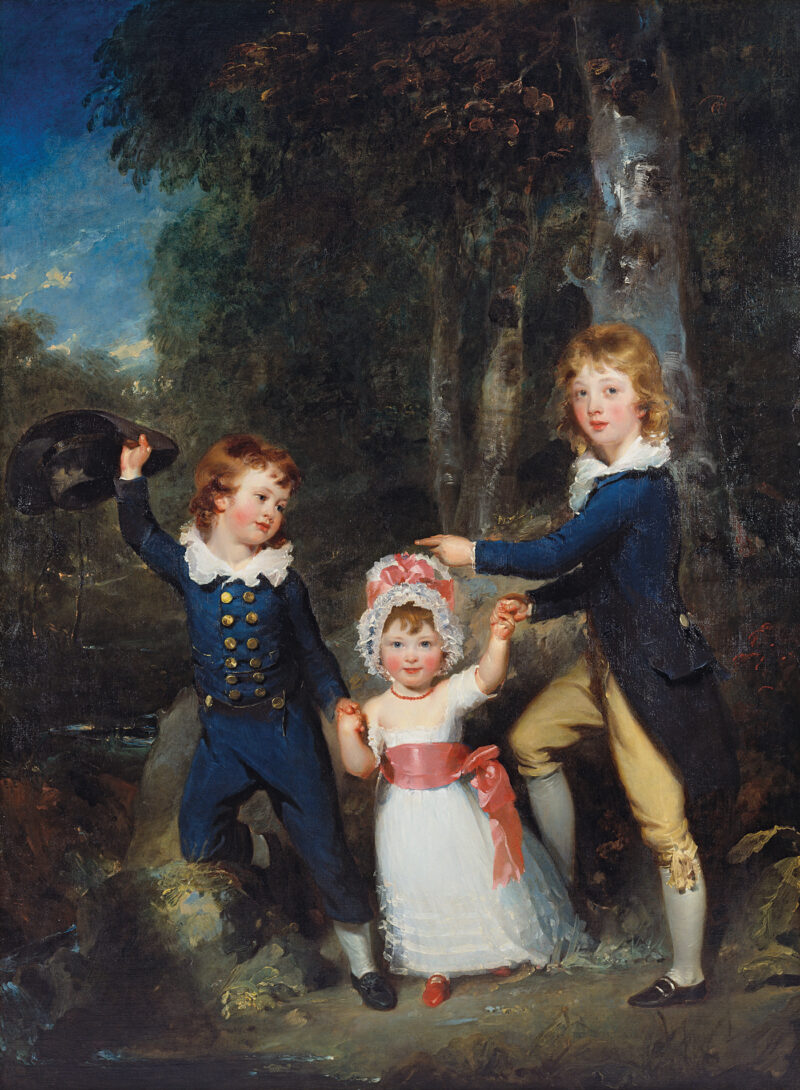 Portrait of the Children of Lord George Cavendish (1754–1834)
