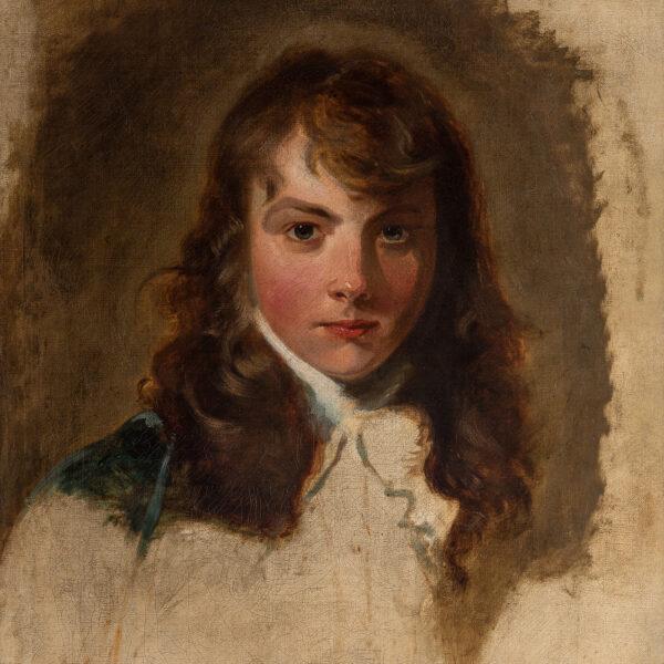 Unfinished Portrait of Arthur Atherley (1772–1844)
