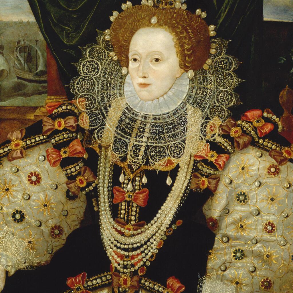 Queen Elizabeth I by Unknown English artist, circa 1588 © National Portrait Gallery, London